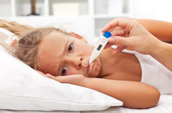 Typische Kinderkrankheiten